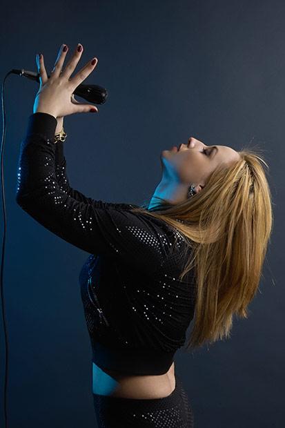 cantareata cu microfon