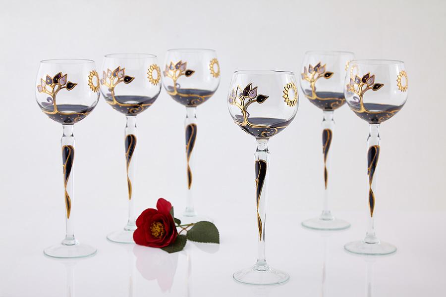 fotografie de produs cu pahare de sticla