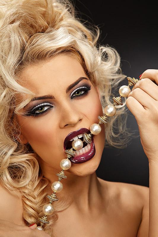 fotomodel in conceptul Cruella