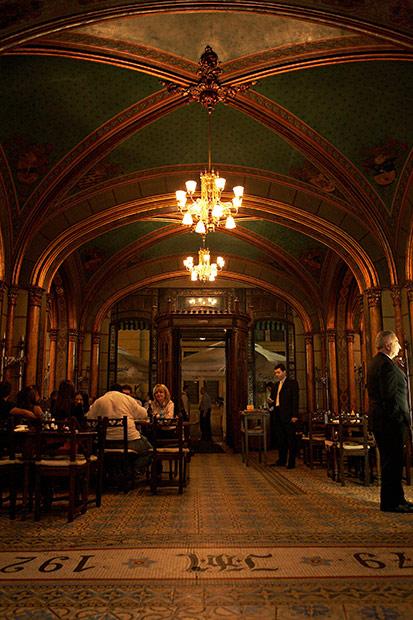 sala mare in Caru cu bere
