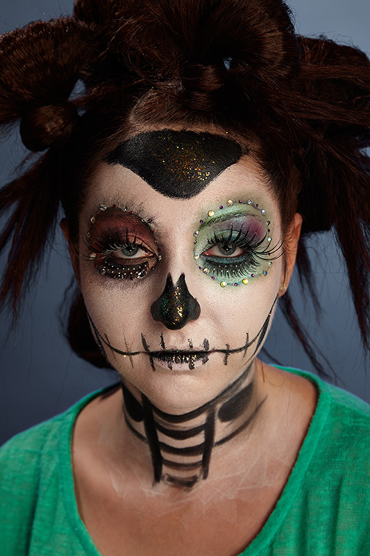 make-up halloween gura cusuta