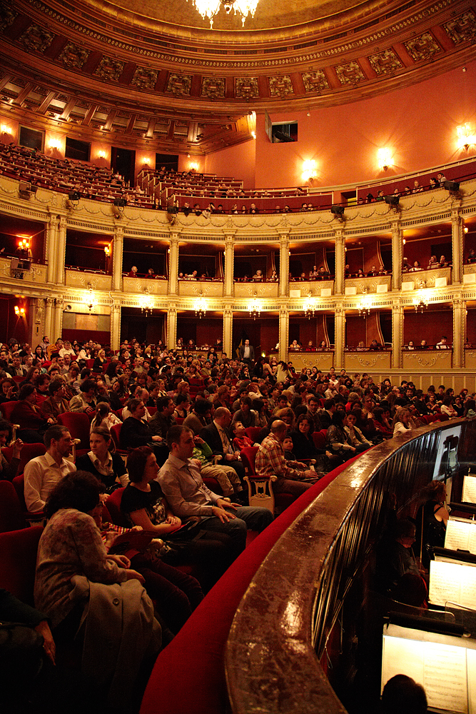 sala mare a Operei Romane