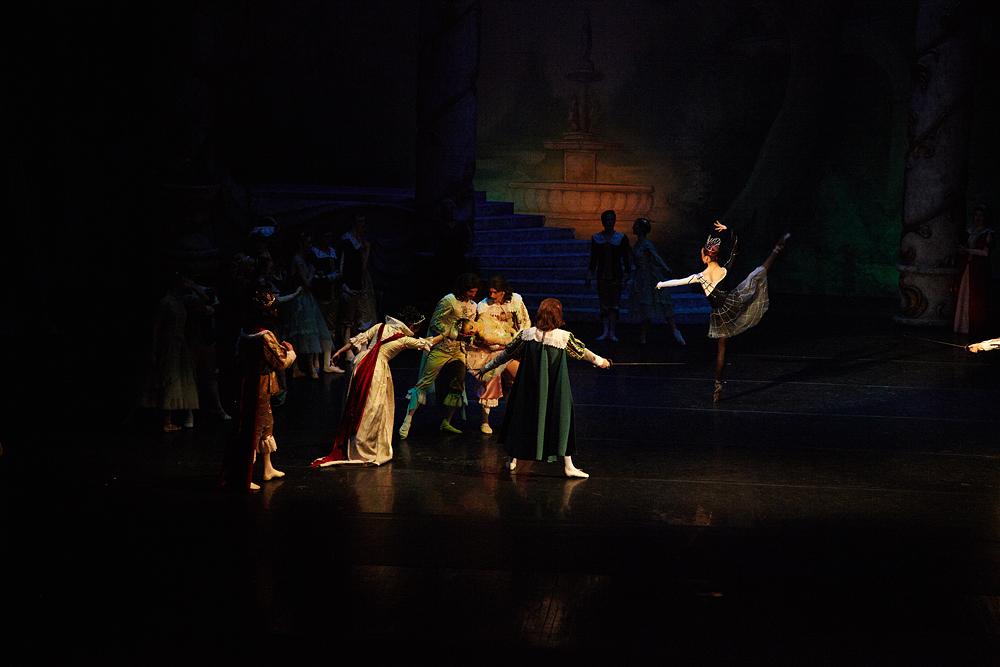 Opera Romana scena de balet