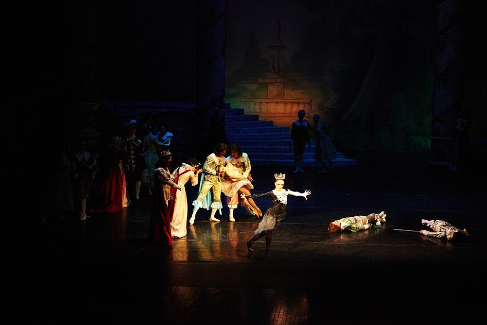 scena dramatica de balet la opera