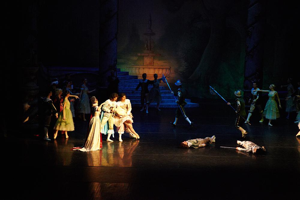 balet la opera romana