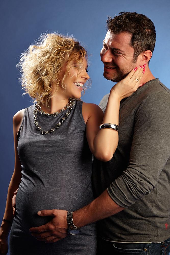 scena de tandrete cu blonda gravida