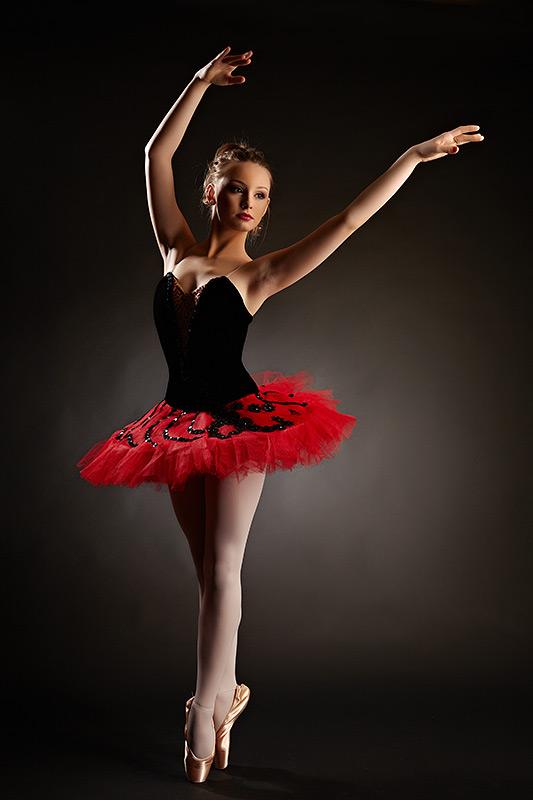fotografie cu balerina