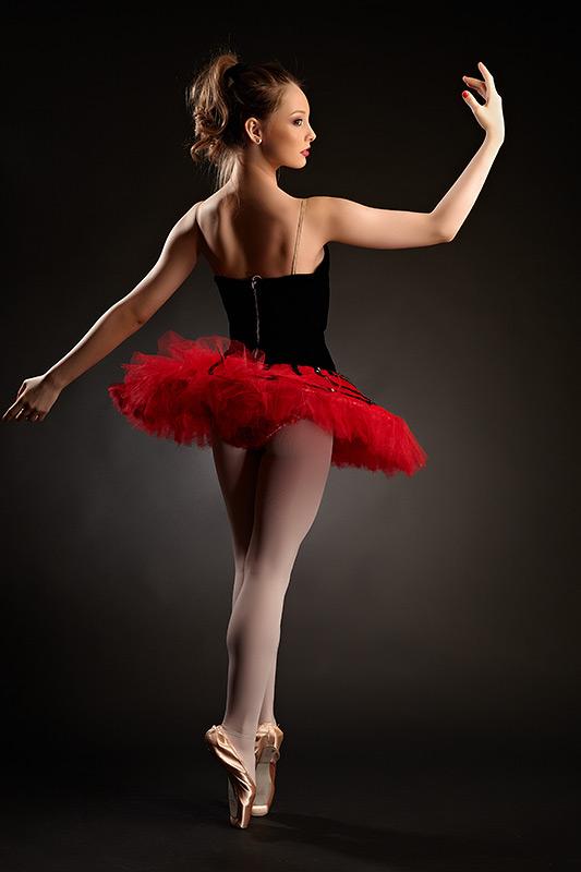 balerina pe poante