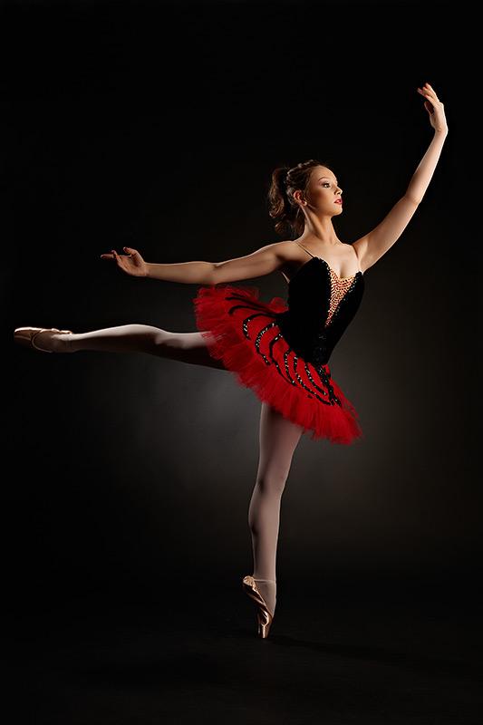 salt gratios facut de balerina