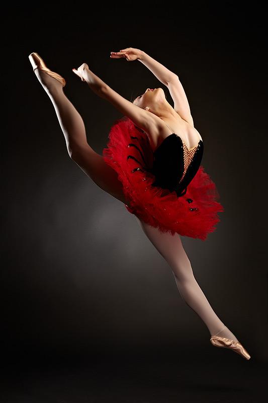saltul balerinei ca un zbor de pasare