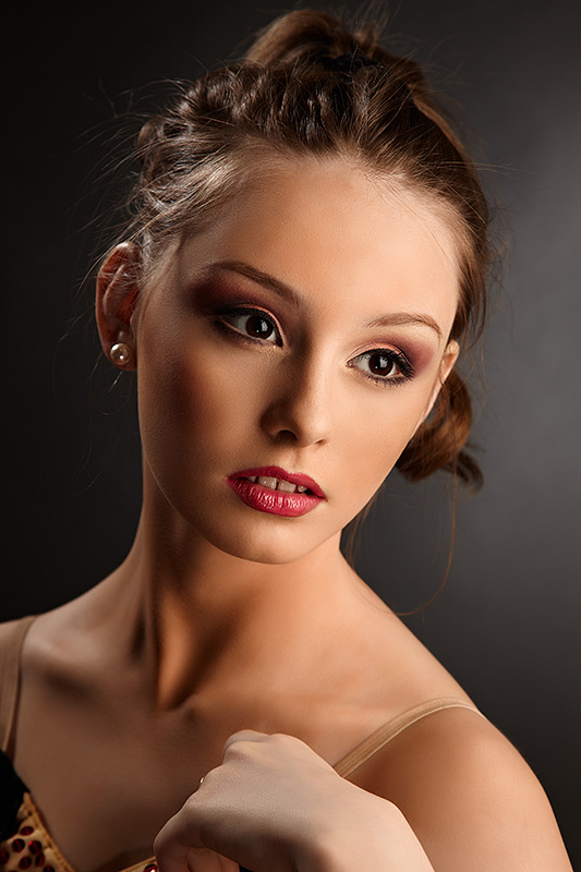 portretul balerinei