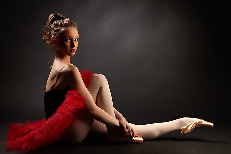 curbura specifica a picioarelor unei balerine