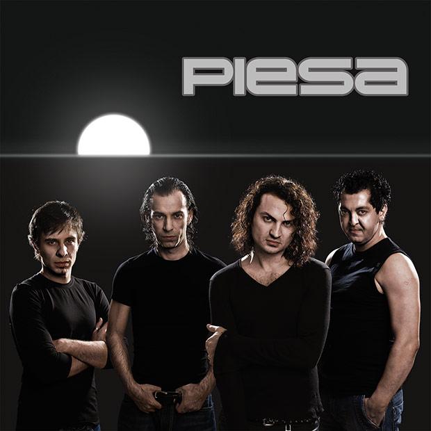 copeta de CD pentru trupa Piesa